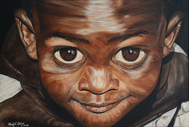 Abasi of Arusha, oil on canvas, 30X24 inches, 2008