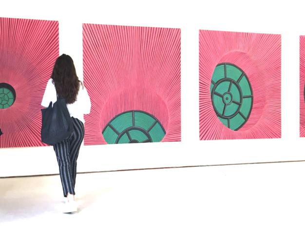 'Hypatia's Window: a pentaptych', oil on canvas, 200X185 cm (each), 2019