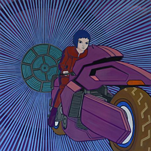 science art, rocket art, London artist, conditional optimism