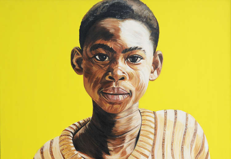 Jackie of Arusha, oil on canvas, 42X30 inches, 2006